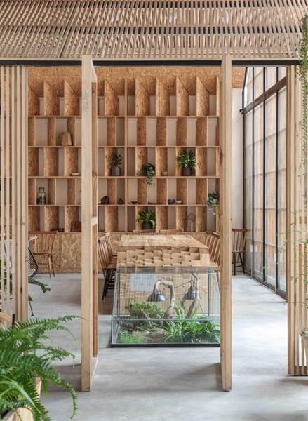 طراحی دکوراسیون داخلی کافه