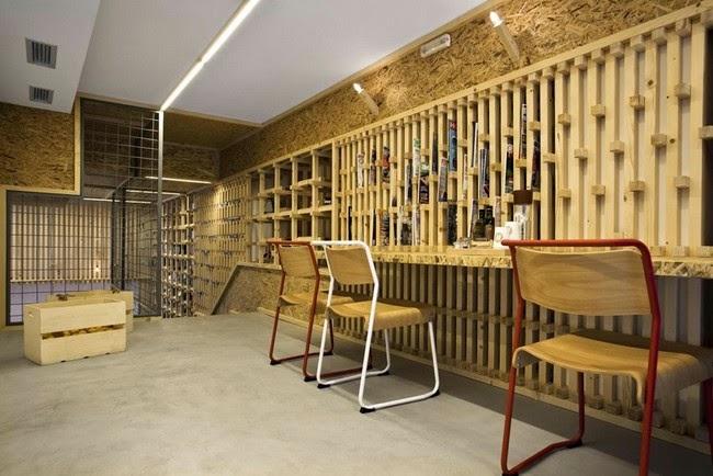 دکوراسیون داخلی کافه IT